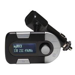 Dab-11 - Adaptateur Dab+ Avec Èmetteur Fm Pour Voiture