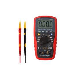 Multimètre Numérique Sélection De Plage Automatique- Cat. Iii 600 V / Cat. Iv 300 V - 15 A - 4000 Points