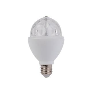 Ampoule Led Rvb Rotative - 3 W - E27