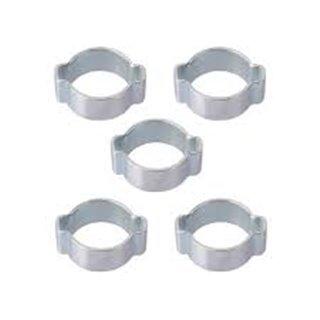 Lot de 5 colliers à oreille diam 13/15mm