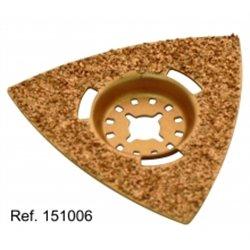 Triangle à creuser / gratter Dimensions 80 x 80 x 80 mm