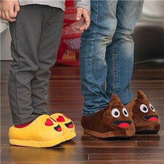 Chaussons pour Enfants Émoticônes-Design-Wink