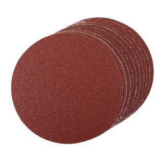 10 disques abrasifs de 150 mm pour plateau support autocollant - Grain 60