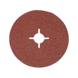 10 disques en fibre 125 x 22,23 mm - Grain 36