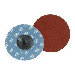 Kit 5 disques abrasifs à changement rapide 75 mm - Grain 60