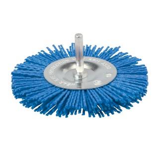 Brosse circulaire nylon - 100 mm fin