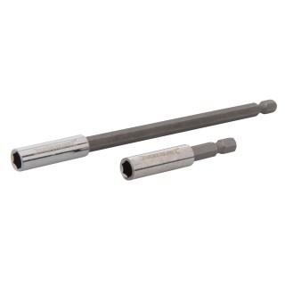 Porte-embout de vissage 2 pcs - 60 et 150 mm