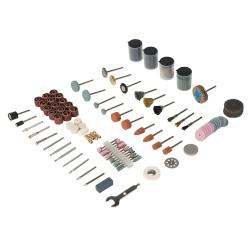 Ensemble 216 accessoires pour outil rotatif - Tige de 3,17 mm