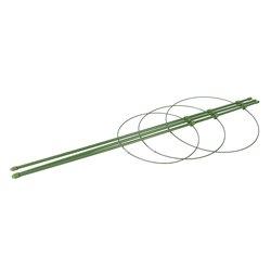 Tuteur à 3 anneaux pour plante - ø 180mm , 200 mm et 220 mm