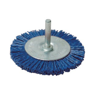 Brosse circulaire nylon - 50 mm grossier
