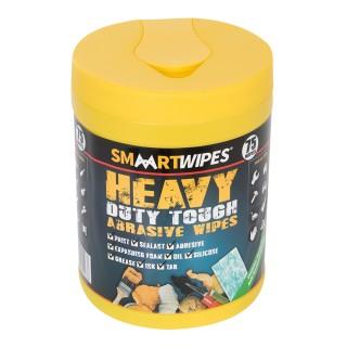 Lingettes abrasives ultrarésistantes travaux intensifs - 75 lingettes