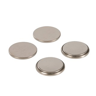 Lot de 4 piles bouton lithium CR2025 - Lot de 4