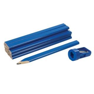 Ensemble de crayons de menuisier et taille-crayon 13 pcs - 13 pcs