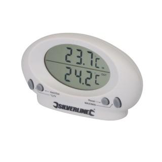 Thermomètre d'intérieur/extérieur - -50 °C à + 70 °C