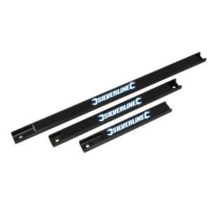 3 barres magnétiques pour outils - 203 , 305 et 457 mm