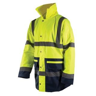 """Manteau haute visibilité classe 3, bicolore - XL 108-116cm (42-46"""")"""