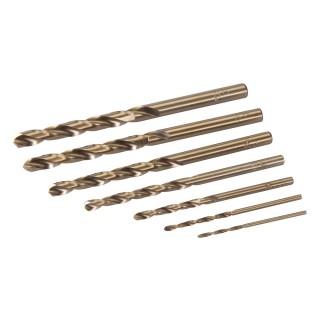 Jeu de 7 mèches au cobalt - 1,5 - 6 mm