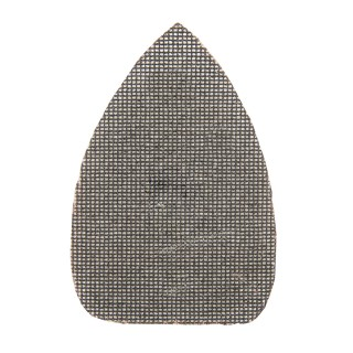 Lot de 10 triangles abrasifs treillis auto-agrippants 150 x 100 mm