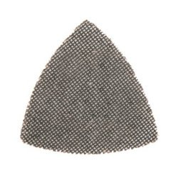 Lot de 10 triangles abrasifs treillis auto-agrippants 95 mm