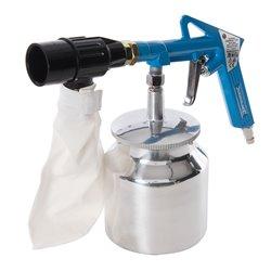 Kit de sablage avec système de récupération d'abrasif 6 pcs