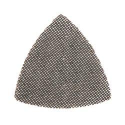 Lot de 10 triangles abrasifs treillis auto-agrippants 95 mm