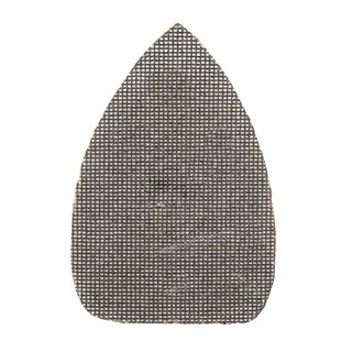 Lot de 10 triangles abrasifs treillis auto-agrippants 140 x 100 mm