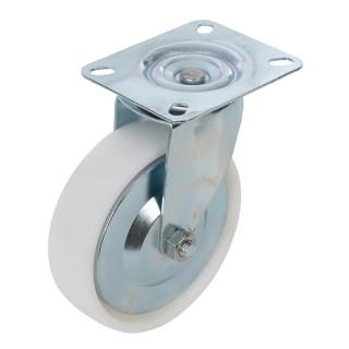 Roulette pivotante polypropylène - 125 mm 160 kg
