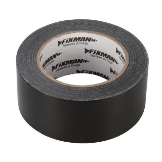 Adhésif toilé robuste - 50 mm x 50 m Noir