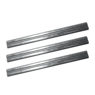 Lot de 3 fers de rabot 180 mm - TPL180PB Lame de 180 mm / 7""