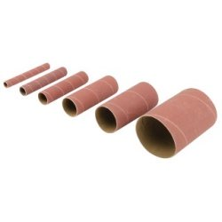 6 manchons de ponçage corindon - TSS150G 6 manchons de ponçage corindon grain 150