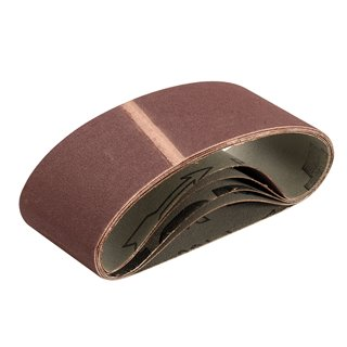 Bandes abrasives 64 x 406 mm 5 pcs - Grain 150