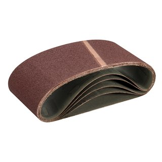 Bandes abrasives 100 x 560 mm 5 pcs - Grain 60