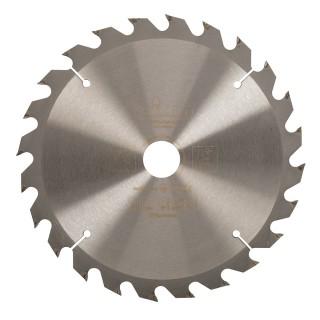 Lame de scie pour travail du bois - 235 x 30 mm - 24 dents