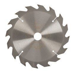 Lame de scie pour bois de construction - 165 x 20 mm / 16 dents