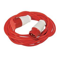 Rallonge électrique 16 A - 400 V - 10 m - 5 broches