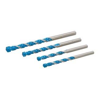 Lot de 4 forets multi-matériaux - 4 pcs