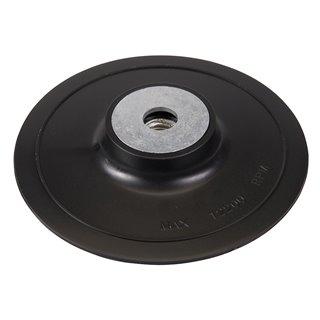 Plateau-support ABS pour disques fibres - 115 mm