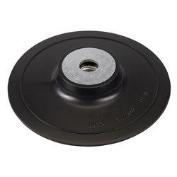 Plateau-support ABS pour disques fibres - 150 mm
