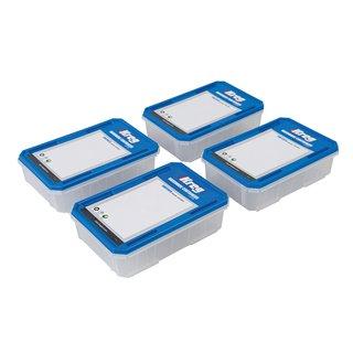 Lot de 4 boîtes à quincaillerie - KSS-S Grand modèle