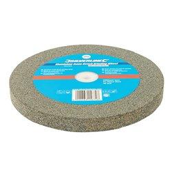 Meule en oxyde d'aluminium pour touret à meuler - 200 x 20 mm - Grain moyen