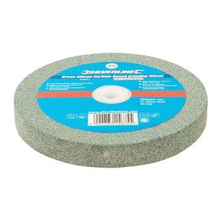 Meule en carbure de silicium vert pour touret à meuler - 150 x 20 mm - Grain moyen