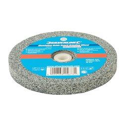 Meule en oxyde d'aluminium pour touret à meuler - 125 x 13 mm - Grain gros