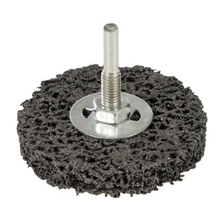 Roue abrasive de nylon - 75 mm