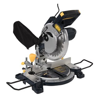 Scie à onglet radiale combinée 210 mm, 1 200 W - GM210C