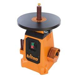 Ponceuse à cylindre oscillant avec plateau inclinable 380 mm, 350 W - TSPS370