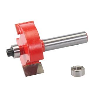 Fraise à feuillurer de 8 mm - 35 x 12,7 mm