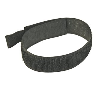 10 serre-câbles auto-agrippants - 150 mm - Noir