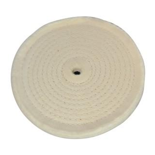 Disque de polissage couture en spirale - 150 mm