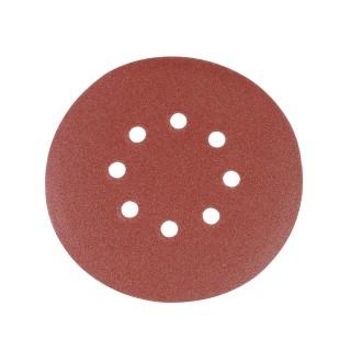 10 disques abrasifs perforés auto-agrippants 150 mm - Grain 120