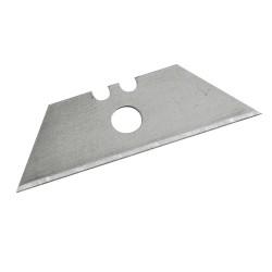 10 lames avec trou central pour cutters et grattoirs - 0,5 mm